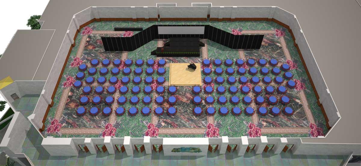 宴会厅|宴会式场地设置