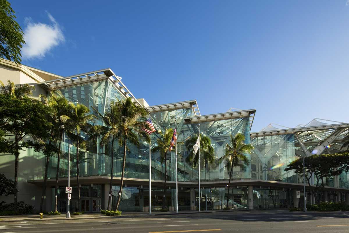 卡拉卡瓦大道会展中心外观 建筑设计:Wimberly, Allison, Tong, & Goo