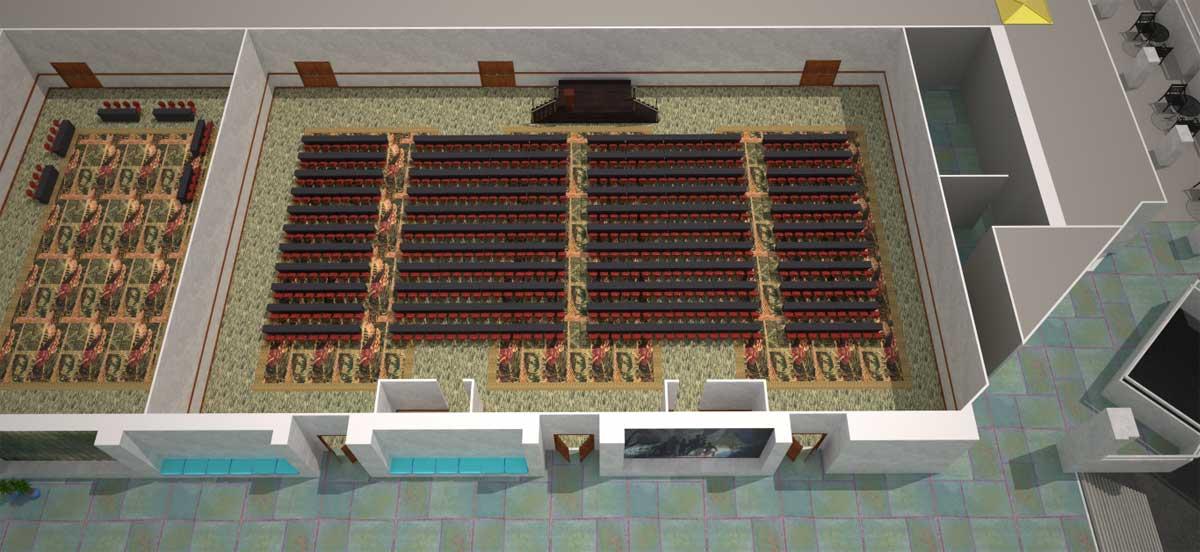 会议室 313 ABC|剧院式场地设置